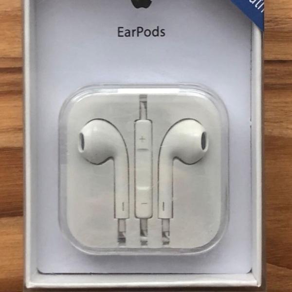 Fone de ouvido earpods apple / lacrado!