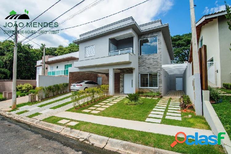 Casa à venda no condomínio residencial pedra grande, em atibaia/sp.