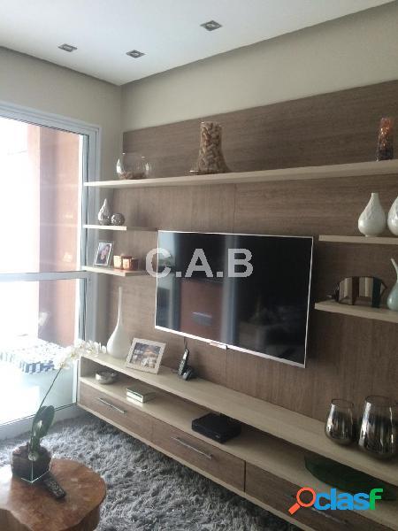 Apartamento mobiliado para venda alpha style alphaville- 2 quartos