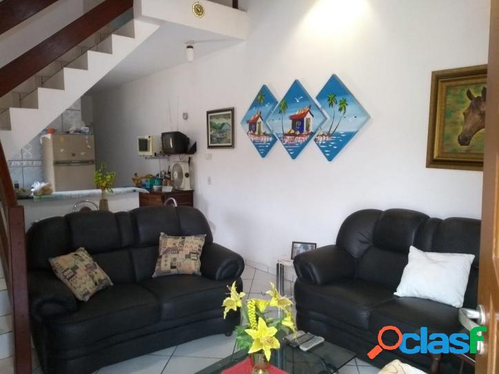 Amplo sobrado semi novo 3 dormitórios-300 m mar- cibratel- itanhaém-sp
