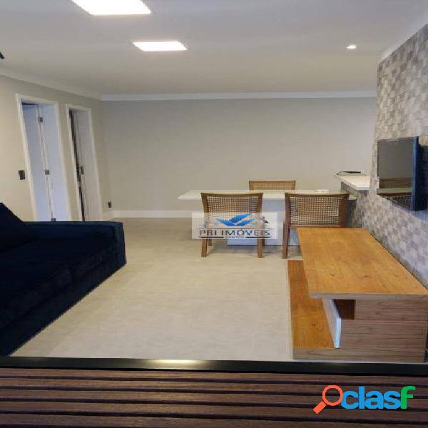 Apartamento para alugar, 48 m² por r$ 2.700,00/mês - josé menino - santos/sp