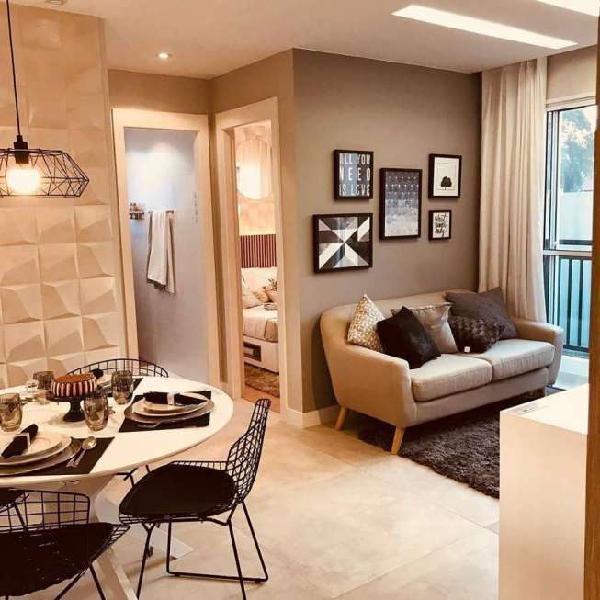 Apartamento em fase final de obras - dez portal belford roxo