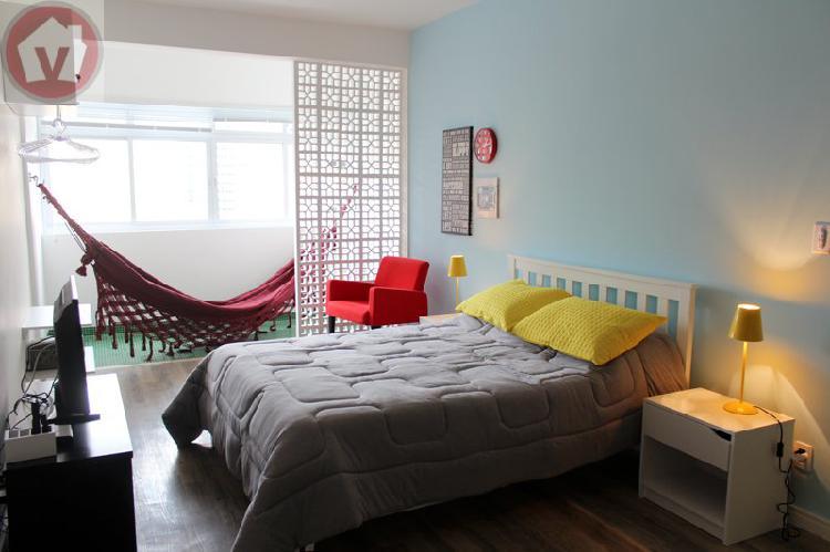 Apartamento quitinete para aluguel em consolação são