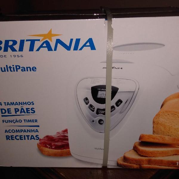 Máquina de pão panificadora multipane britânia nova