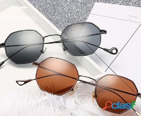 Óculos vintage hexagonal importado