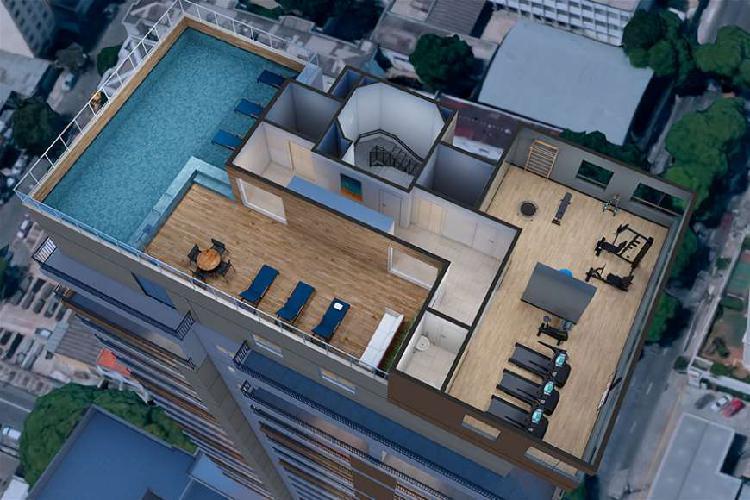 Apartamento na pompeia - 48 metros - 2 dorm - 1 suite com