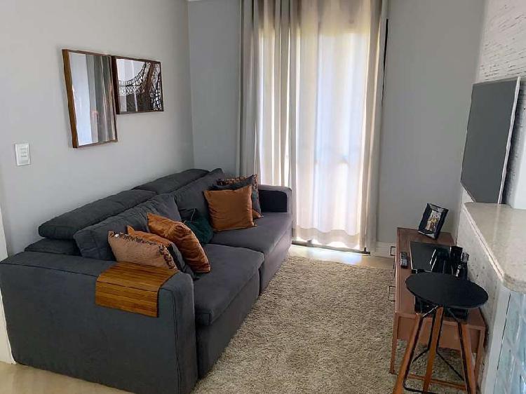 Apartamento de 1dorm., 1 vaga, mobiliado na vila andrade.