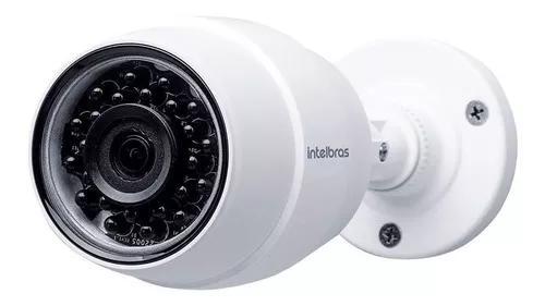 Camera de segurança wi-fi hd ic5 externa intelbras