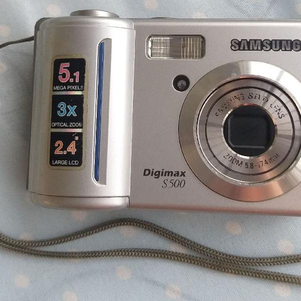 Câmera fotográfica digital samsung