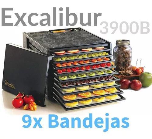 Desidratador alimentos excalibur 9 bandejas mod. 3900b top