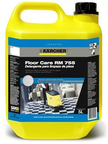 Detergente karcher floor care rm 755- 5 litros