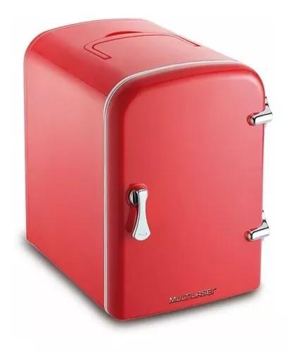 Mini geladeira cooler elétrico 12v 110v 220v multilaser