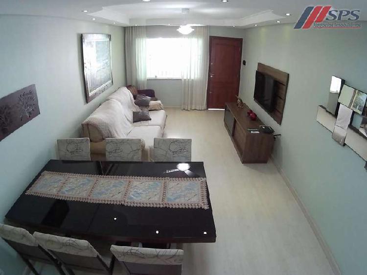 Sobrado 164 m² – 3 suítes (mobiliado) – aluguel – ao