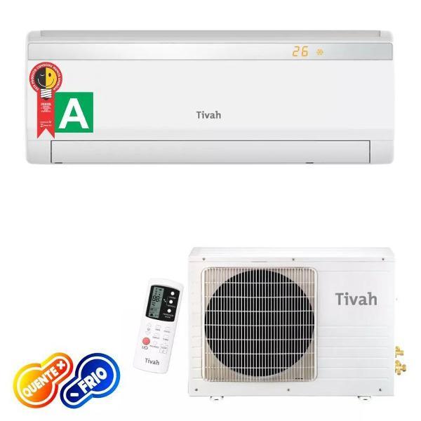 Ar condicionado split hi-wall tivah eco 12.000 btu/h