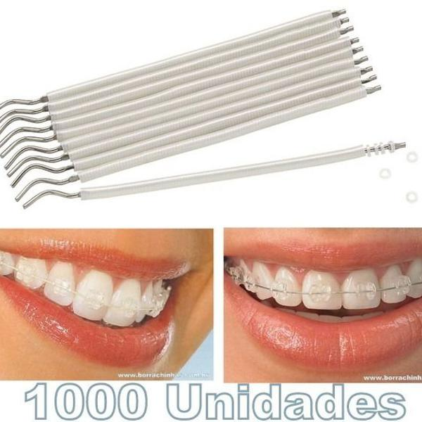 borrachinhas ortodonticas pearl white 1000 unidades