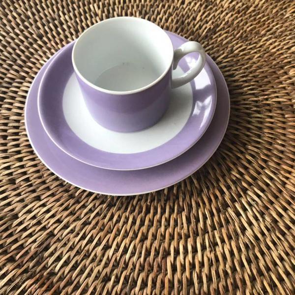 Conjunto de chá para 2 pessoa + 2 xícaras de cafezinho