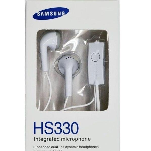 Fone de ouvido com microfone samsung hs330