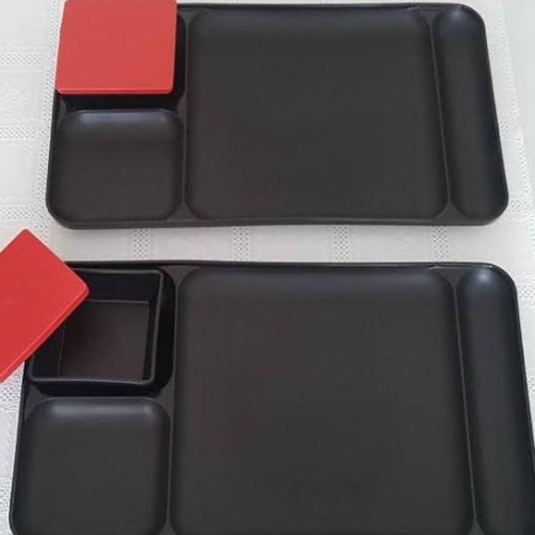 Kit zen tupperware para comida japonesa