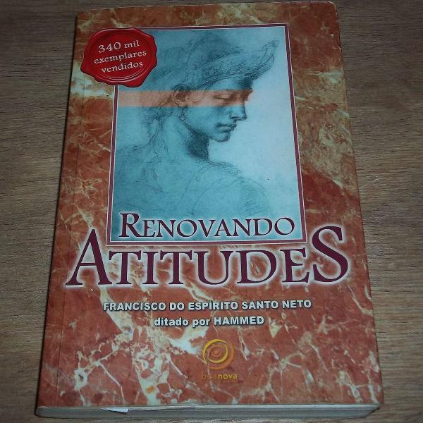 Livro renovando atitudes - francisco do espirito santo neto