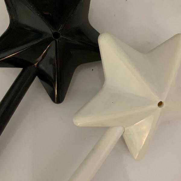 Saleiro e pimenteira de estrela