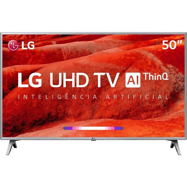 Smart tv led 50'' lg 50um7510 ultra hd 4k