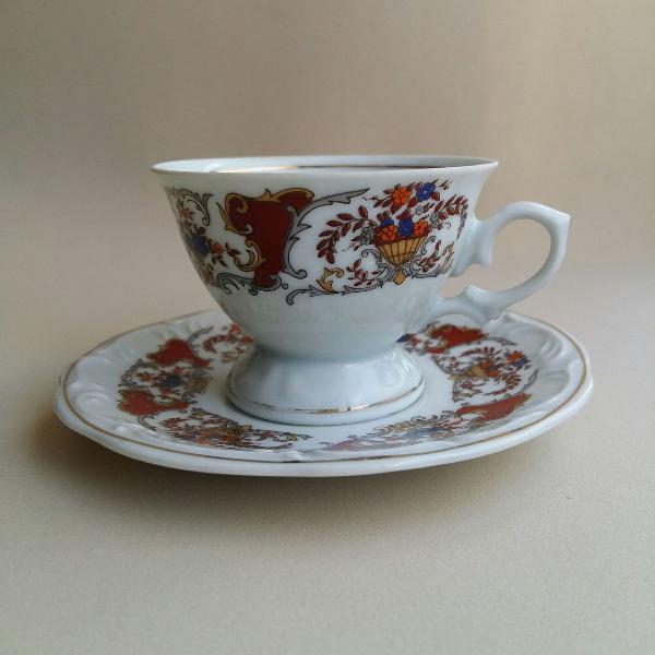 Xícara de café em porcelana schmidt