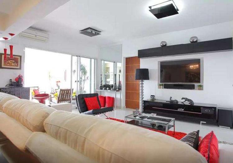 Apartamento de alto padrão totalmente decorado de 2