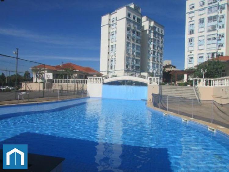 Apartamento residencial em porto alegre - rs, cavalhada