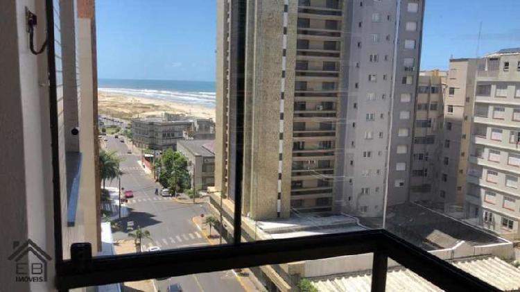 Apartamento 2 dormitórios à venda em torres, vista mar -