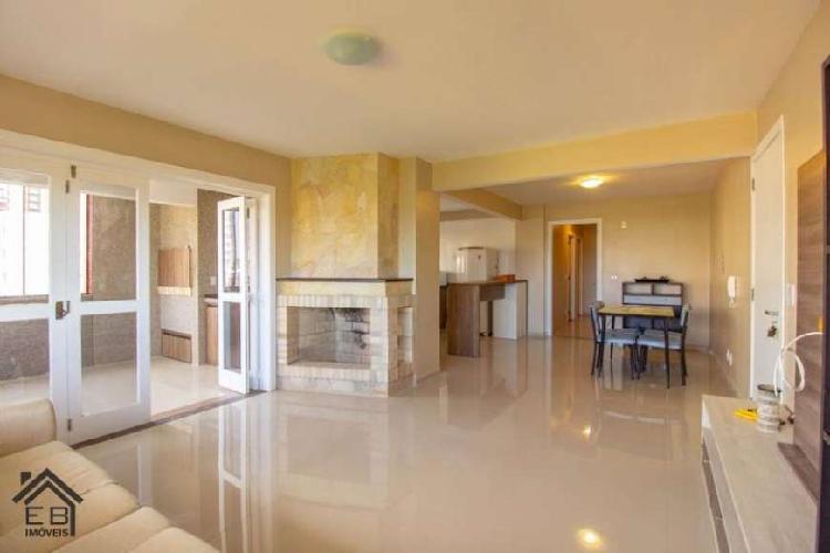 Apartamento 3 dormitórios com lareira à venda, Torres RS -