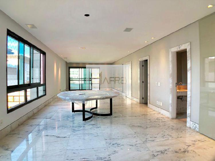 Apartamento alto luxo 4 quartos ao lado do minas tênis i