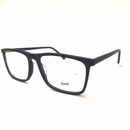 Armaçao para oculos grau masculino grande 58mm trend-10008