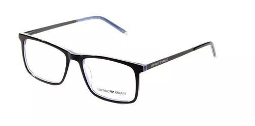 Armação masculino armani 8907 óculos para grau pr