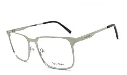 Armação oculos grau masculino c5454 alumínium