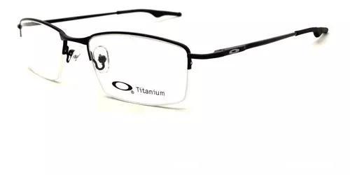Armação oculos grau masculino ox7069 titanium original