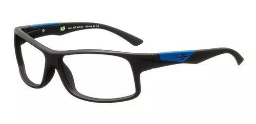 Armação oculos grau mormaii vibe 1127a4154 preto fosco