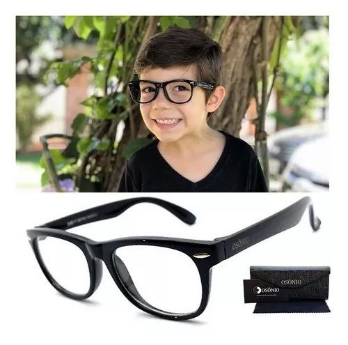 Armação oculos grau osônio infantil silicone flexível
