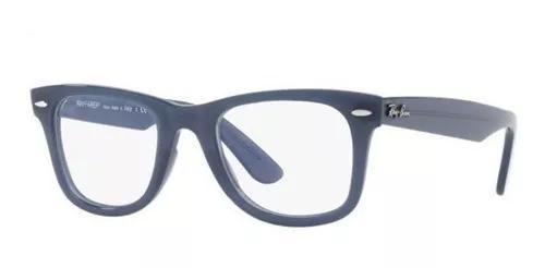 Armação oculos grau ray ban rb4340v 5747 wayfarer 50mm