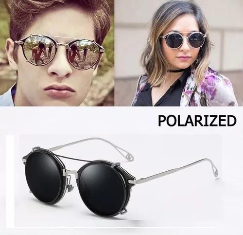 Armação óculos clip on masculino f