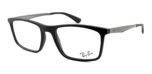 Armação óculos de grau ray-ban masculino rb7134l 5826 53