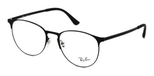 Armação óculos de grau ray-ban rb6375 2944 redondo preto