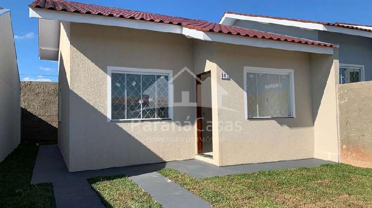Casa individual com 51m² - 02 quartos - contenda