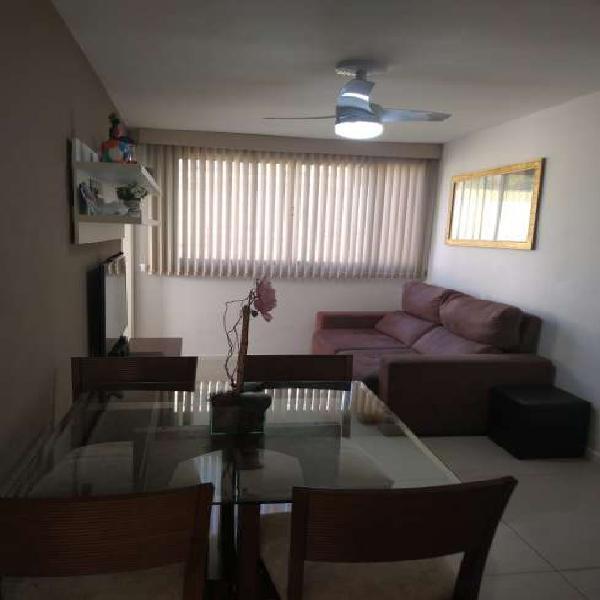 Maria paula - lindo apartamento reformado com móveis