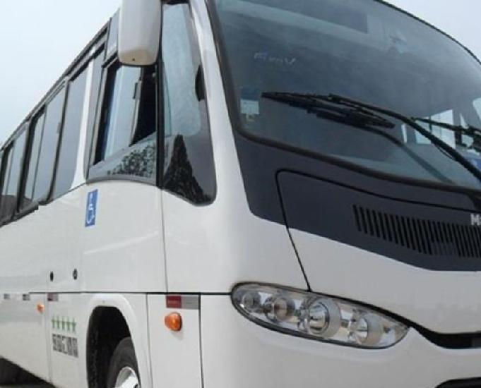 Micro onibus marcopolo volkswagem ano 2013 com 27 lugares