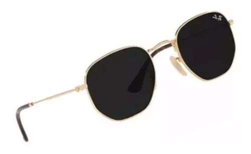 Oculos de sol hexagonal rb3548 f