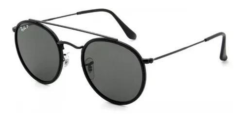 Oculos de sol ray ban double brindge rb3647 rose envio ja