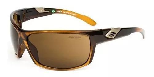 Oculos solar mormaii joaca 34530902 - marrom translucido