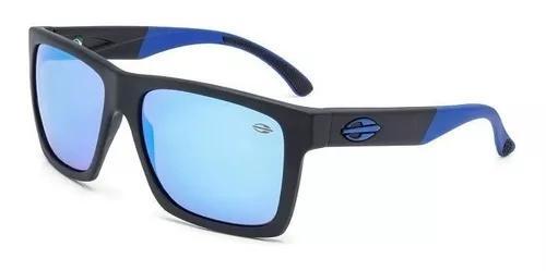 Oculos solar mormaii san diego m0009a4197 preto fosco azul
