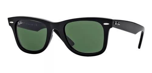 Culos de sol rayban wayfarer original preto verde