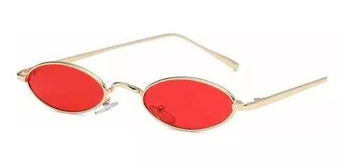 Culos fino retrô oval redondo pequeno trap hip vermelho